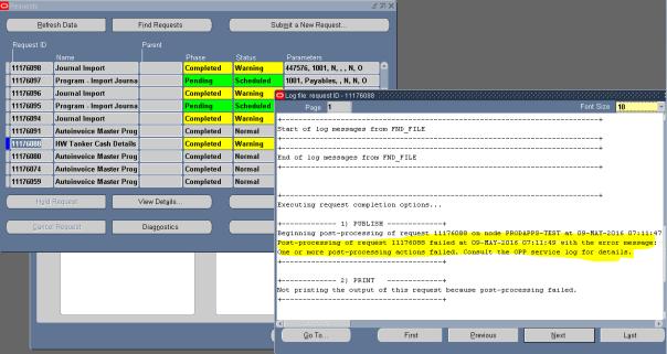 Log file Info