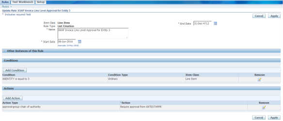 AP Invoice Line Approval Workflow in oracle apps