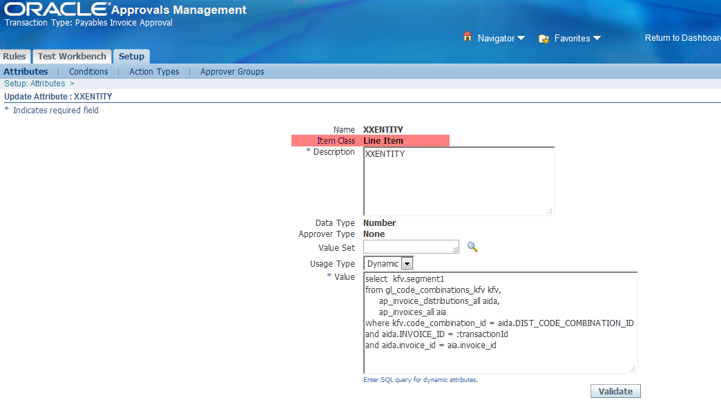 AP Invoice Line Approval Workflow in oracle apps | pacesettergraam