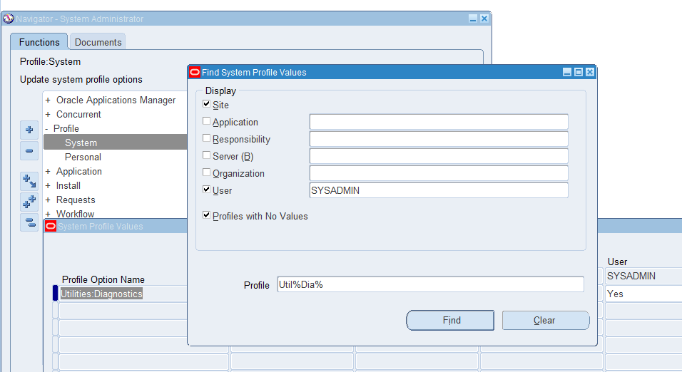 Enabling Diagnostics in Oracle application Forms | pacesettergraam